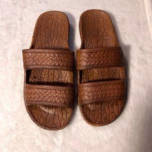 """17f05b0b7d06 Pali Hawaii. Pali Hawaii """"Jesus"""" Sandals"""
